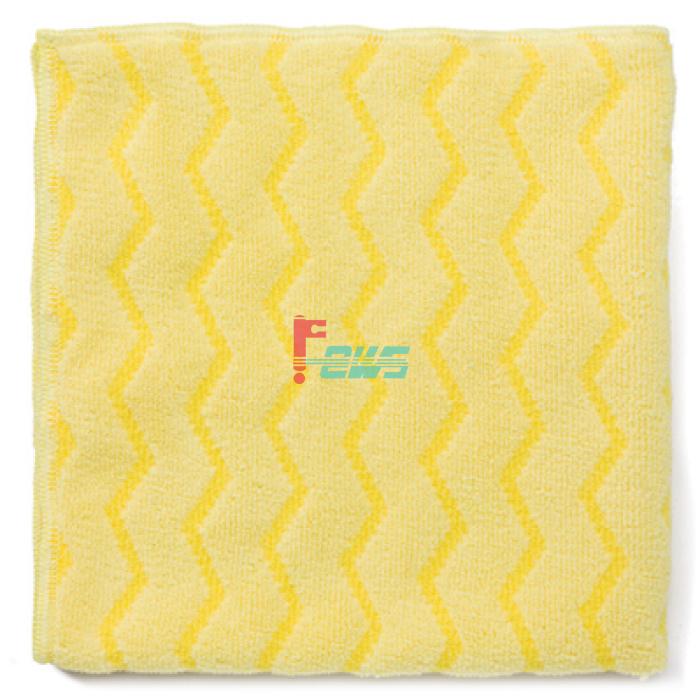 Rubbermaid FGQ61000 浴室专用微纤抹布 (黄色)