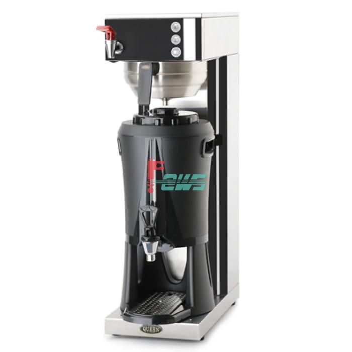 QUEEN Single Cater 单头咖啡机连开水(配保温桶)