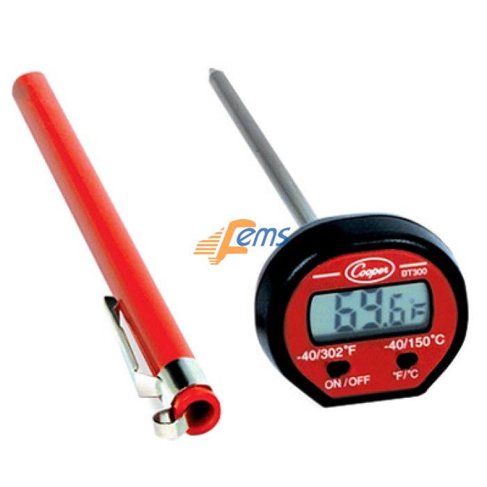 Cooper-ATKINS DT300 袋式电子温度计(摄氏/华氏)