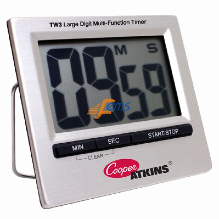 Cooper-ATKINS TW3 大型数字多功能定时器(站立/磁铁)(正/倒计时)