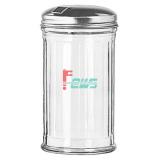 VOLLRATH 920 玻璃调味品罐(不锈钢单孔盖)