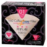 HARIO VCF-01-100MK V60 盒装黄色滤纸 (1~2杯用)