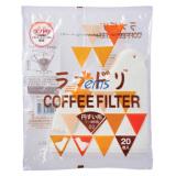 HARIO VCFL-02-20W V60 爱情鸟袋装白色滤纸 (1~4杯用)