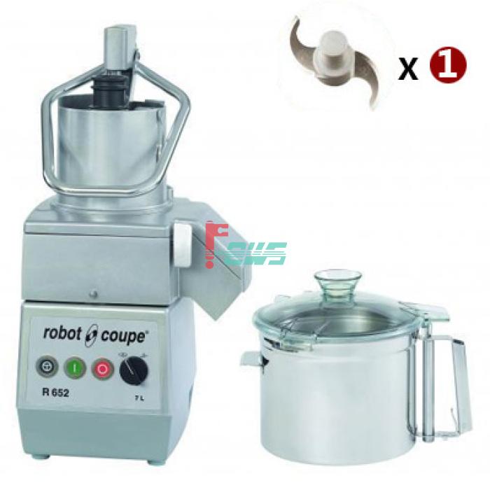 Robot-coupe R 652 R652 食品处理机(双速/三相)