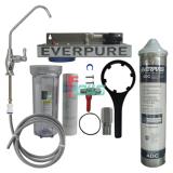 Everpure 621121-25 4DC 单头净水器(透明桶/旋把龙头)