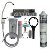 Everpure 621111-25 4DC 单头净水器(透明桶/扳把龙头)