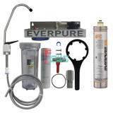 Everpure 621111-26 4FC 单头净水器(透明桶/扳把龙头)