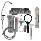 Everpure 621115-22 4FC-S 单头净水器(透明桶/扳把龙头)