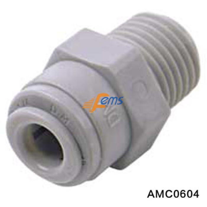 DMT AMC0604 快接-外丝(直通)