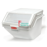 Rubbermaid FG9G5800 200杯层架式食品原料贮存桶 (白色)