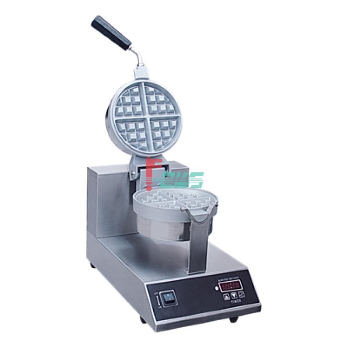西厨 WAM-1R-R 旋转式单头圆形华夫炉