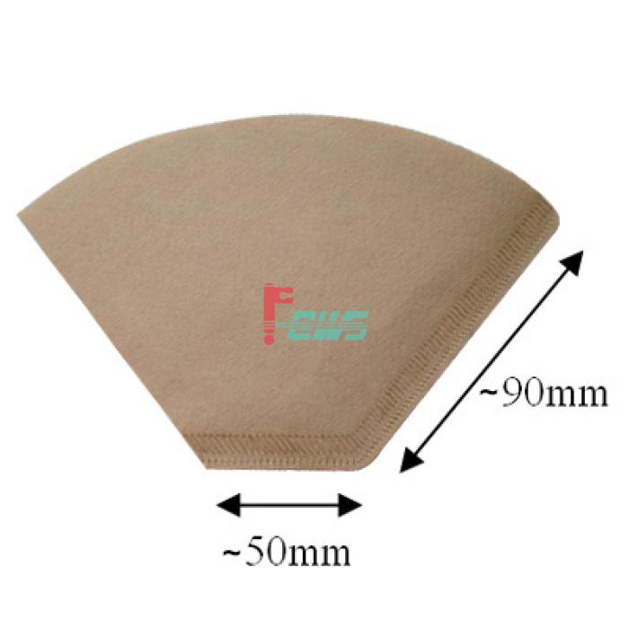 Brew Rite 40-450 三角形咖啡滤纸(2#)