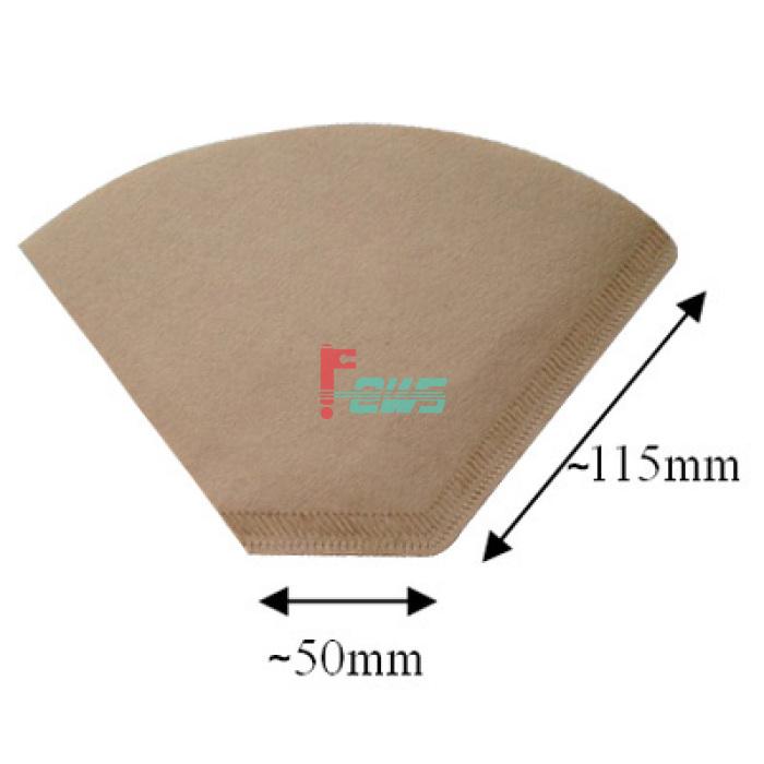 Brew Rite 46-450 三角形咖啡滤纸(4#)