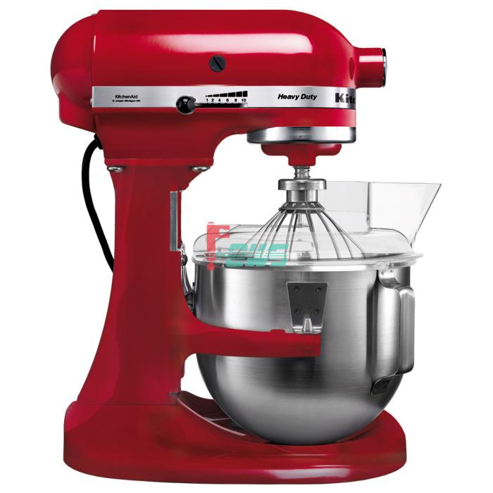KitchenAid 5KPM5CER 4.8L 升降式厨师机 (帝王红色)