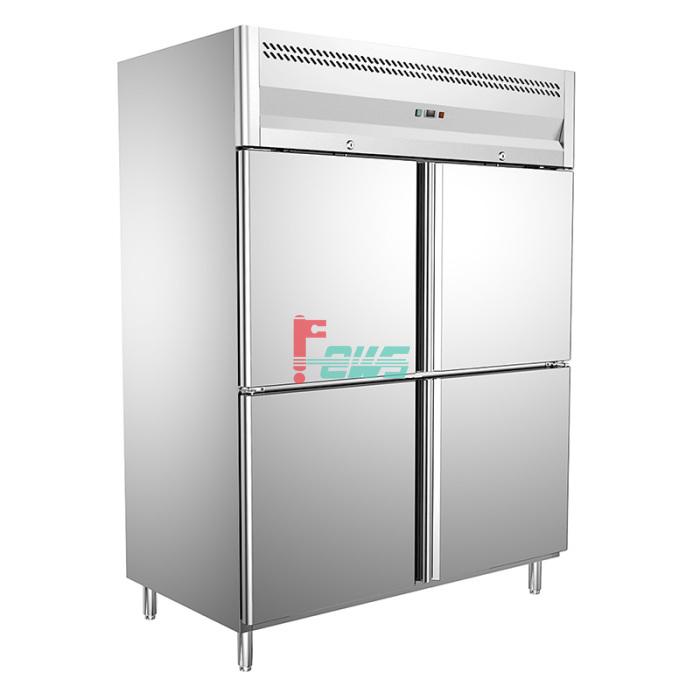 Teccold TB-1220FF 四门冷冻柜 (烤盘)