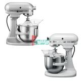 KitchenAid 5KPM5 4.8L 升降式厨师机 (1白色+1银色)